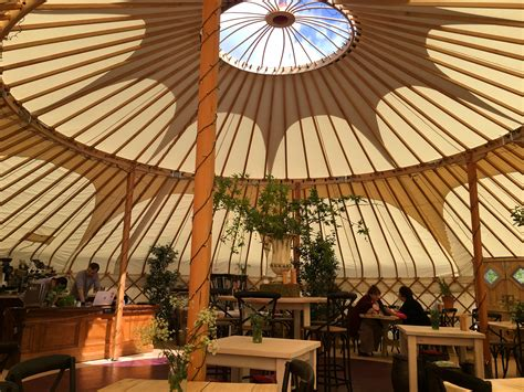 Almost-Alfresco Lunching: The Yurt at Nicholsons – Common Toff