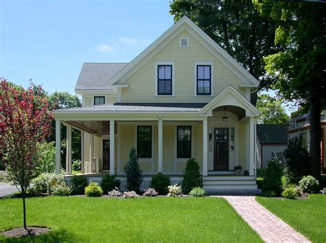 fresh traditional cottage designs wrap around porch convention boston traditional