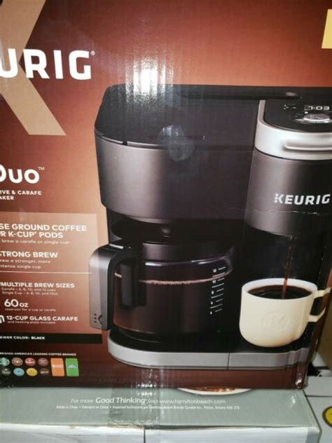 Keurig coffee maker 2.0 k200 replacement water tank reservoir only no lid. Keurig K-Duo Single-Serve & Carafe Coffee Maker - Black for sale online   eBay