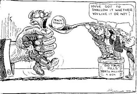 The Treaty Of Versailles Solved One Problem, Caused Plenty