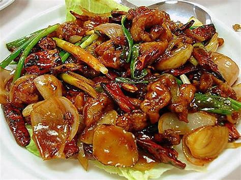 cuisine asiatique poulet recette de poulet gong bao