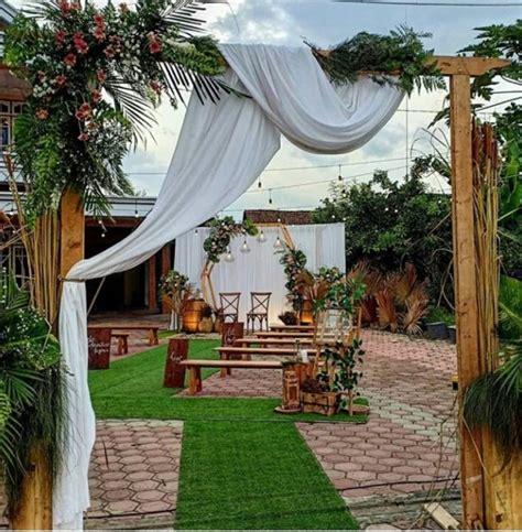 dekorasi halaman rumah pusat wedding organizer yogyakarta