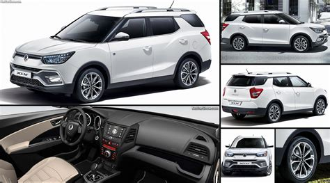ssangyong tivoli xlv  pictures information specs