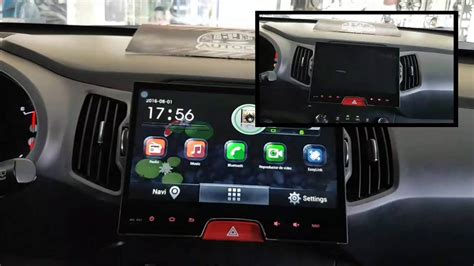 radio android kia sportage revolution p autocity youtube