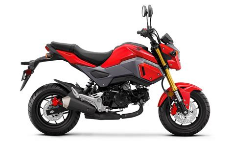 2017 Honda Grom 125 Pictures