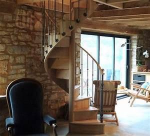 Escalier En Colimaçon : escalier en colima on frenchimmo ~ Mglfilm.com Idées de Décoration