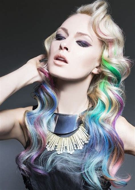 38 Best Images About Hair Color Chalking On Pinterest My