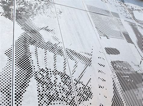 target folding perforated sheet metal to the fore stylepark