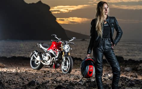 Motorcycle Girl Wallpaper (70+ Images