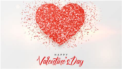 Happy Valentine Day Crystal Heart Wallpaper | HD Wallpapers