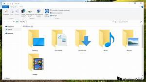 How to remove quick access from file explorer in windows for My documents icon windows 10