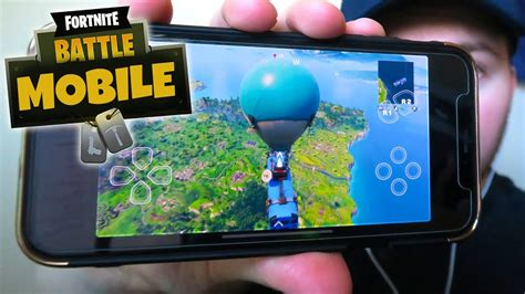 fortnite  mobile edition  gameplay iphoneios