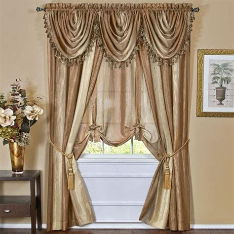 ombre window curtains achim ombre panel 50 x 84 sandstone ompn84ss06 window