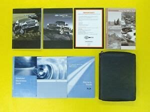 ford owners owners manual set