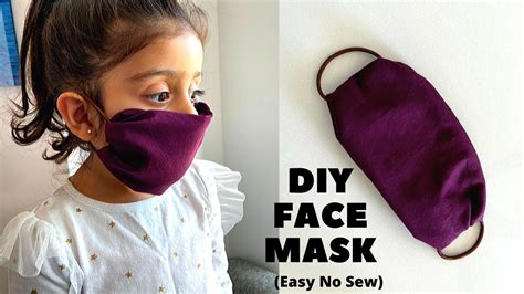 easy   diy face mask simple  sew face mask
