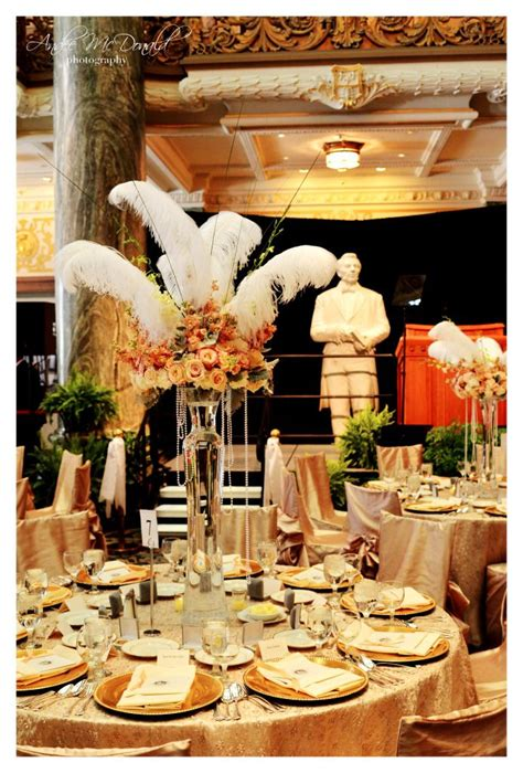Throwing a Great Gatsby Wedding Ideas in 2019 Gatsby