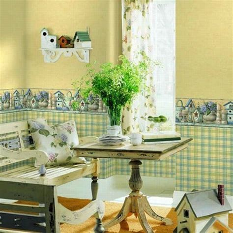 Some Different Types of Kitchen Wallpaper Borders   Home