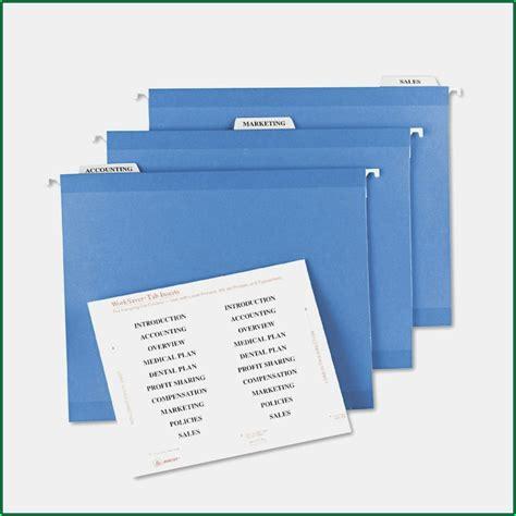 pendaflex hanging file folder tabs template template