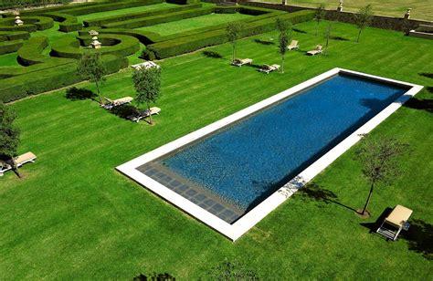 couloir de nage piscine rectangulaire piscines diffazur