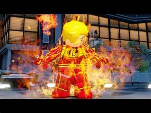 Lego Marvels Avengers How to Unlock Human Torch (Original ...