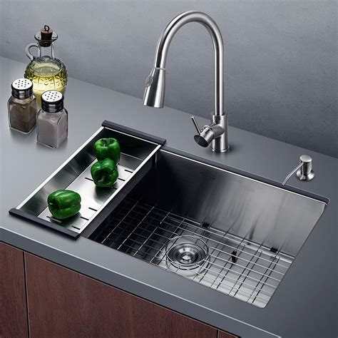 Which Kitchen Sink by Harrahs 30 Inch Commercial Stainless Steel Kitchen Sink