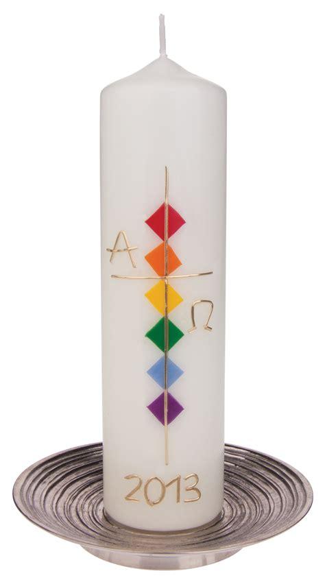 osterkerze kreuz gold alpha omega bei kirchliche