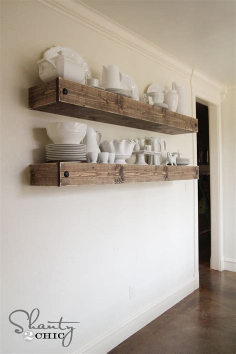 fireplace mantel square shelf diy floating shelf plans for the dining room shanty 2 chic
