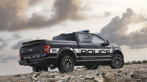 Your Police Cars Are No Match For Ford's Police Pick-up