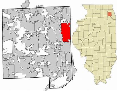 Elmhurst Illinois County Dupage Unincorporated Areas Incorporated
