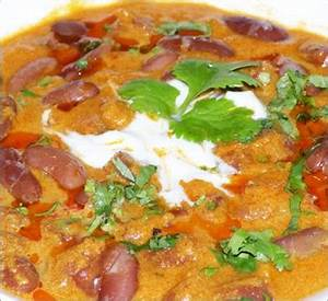 Harika's Kitchen: Rajma curry in south indian style