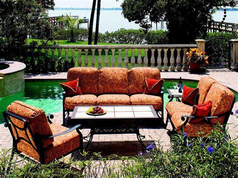 suncoast rendezvous cushion cast aluminum lounge set rndcls