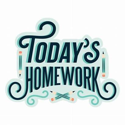 Homework Today Sticker Badge Transparent Svg Todays