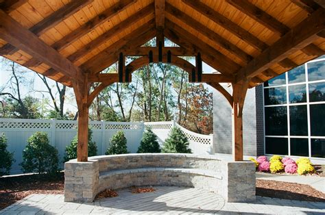 nbc ct outdoor pavilion  barn yard