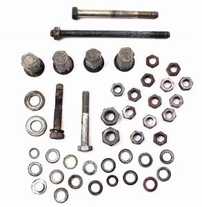 Engine Block Case Hardware Bolts Nuts 83