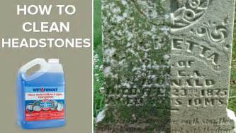 and forget outdoor headstone cleaner
