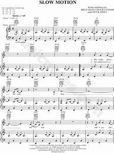 Billy Dean  U0026quot Slow Motion U0026quot  Sheet Music In C Major - Download  U0026 Print