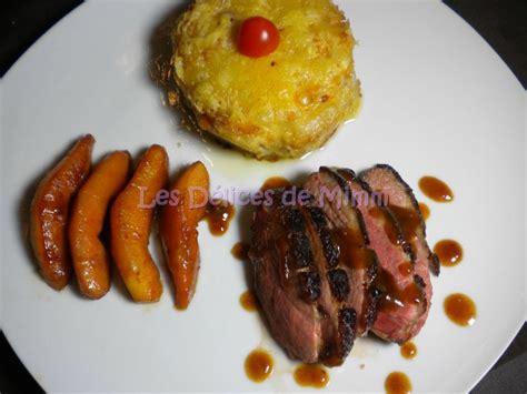 cuisiner un magret de canard au four gratin de topinambours les délices de mimm