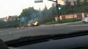 Dodge Challenger gas tank leaks and catches on fire and ...