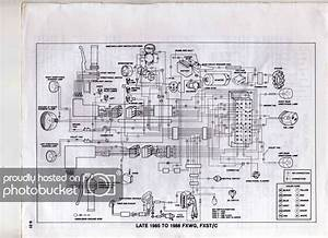 1985 Wide Glide Wiring Diagram