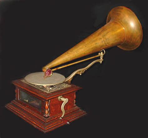 Zonophone Grand Opera Front Mount Disc Phonograph C 1901