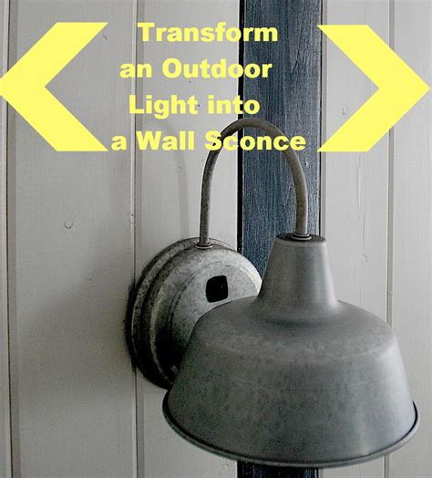 add diy switches to outdoor sconces to make indoor bedside