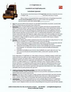 freight broker agreement template template update234com With real estate broker agreement template