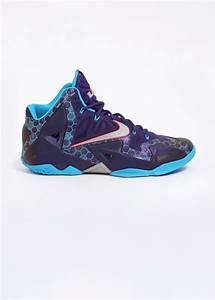 Nike Lebron XI 'Hornets' - Court Purple / Reflective Silver