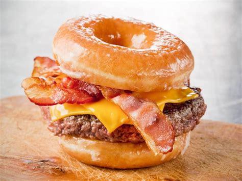 doughnut burger glazed donut burger recipe the burger guide