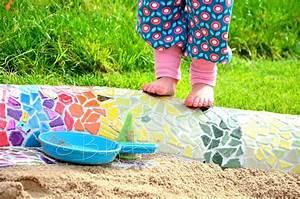 Fühlbuch Selber Machen : eine mosaik schlange als sandkasten hausbau garten ~ Lizthompson.info Haus und Dekorationen