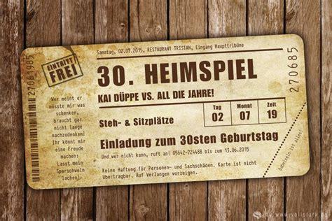 einladungskarte heimspiel vintage das original ideen