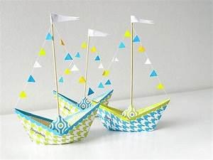 Origami Bateau à Voile : d coration et bricolage tutoriels diy printemps ~ Dode.kayakingforconservation.com Idées de Décoration