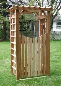 tonnelle en bois de c 232 dre versaille avec porte pleine