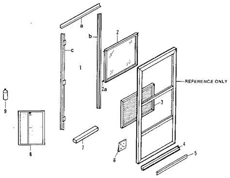 pella door parts pella door replacement parts images