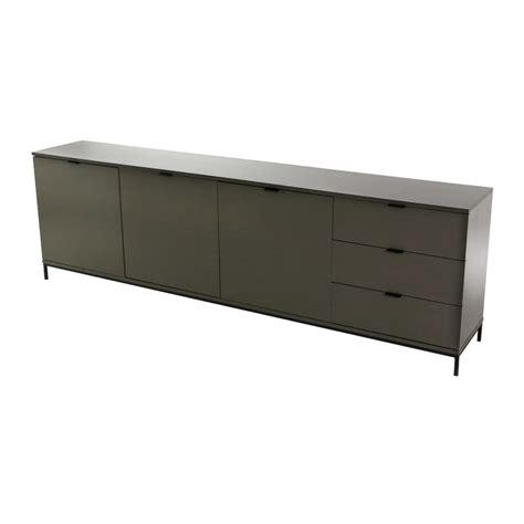 meuble bas laqu 233 mat 240 cm absolument design